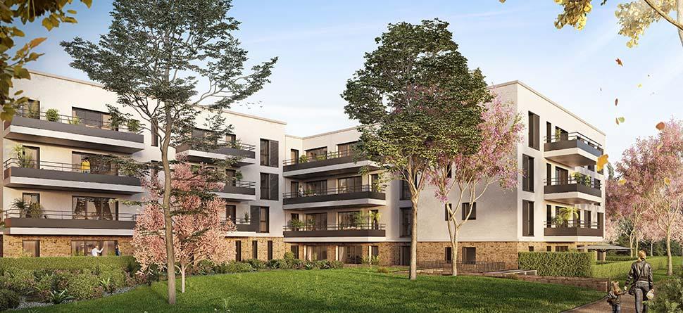 Programme immobilier La Ciotat (13600) Quartier du Garoutier OGI15