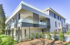 Programme immobilier VAL73 appartement à Vetraz Monthoux (74100) Quartier Plongé Dans un Parc Paysager