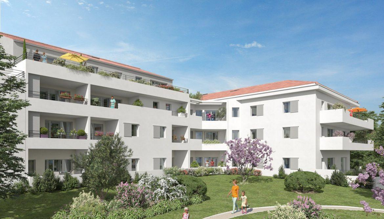 Programme immobilier ALT75 appartement à Cuges-les-Pins (13780) Proche du centre-ville
