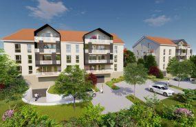 Programme immobilier CAP2 appartement à Gex (01170) À l'Orée du Parc Naturel du Haut-Jura