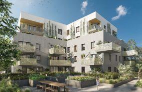 Programme immobilier ICA2 appartement à Chambery (73000) À 1 min du parc Buisson rond
