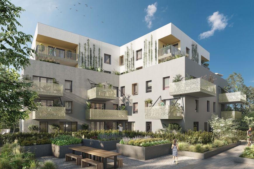 Programme immobilier Chambery (73000) À 1 min du parc Buisson rond EDE10