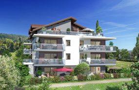 Programme immobilier ALT42 appartement à Publier (74500) Domaine Résidentiel Clos Baigné de Verdure