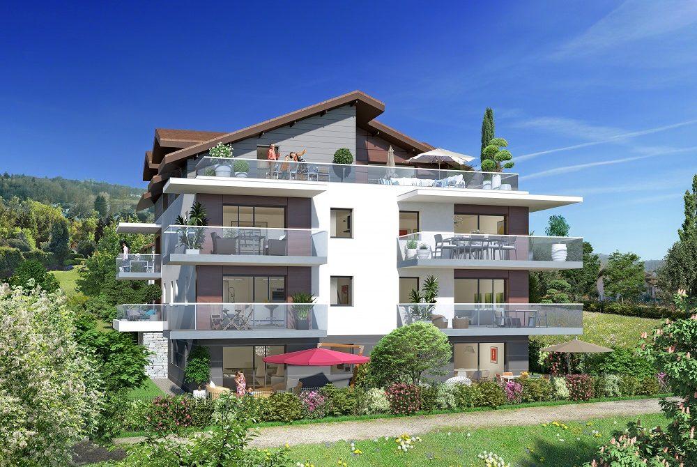 Programme immobilier Publier (74500) Domaine Résidentiel Clos Baigné de Verdure CRA11
