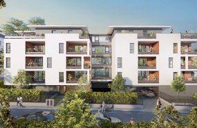 Programme immobilier VAL71 appartement à Thonon les Bains (74200) Aux Portes du Quartier Prisé de Concise