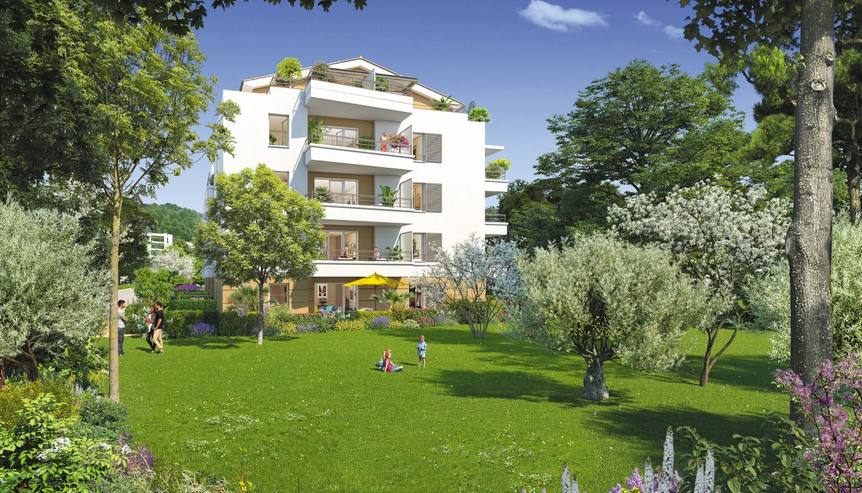 Programme immobilier ALT48 appartement à Toulon (83000) Au pied du Mont Faron