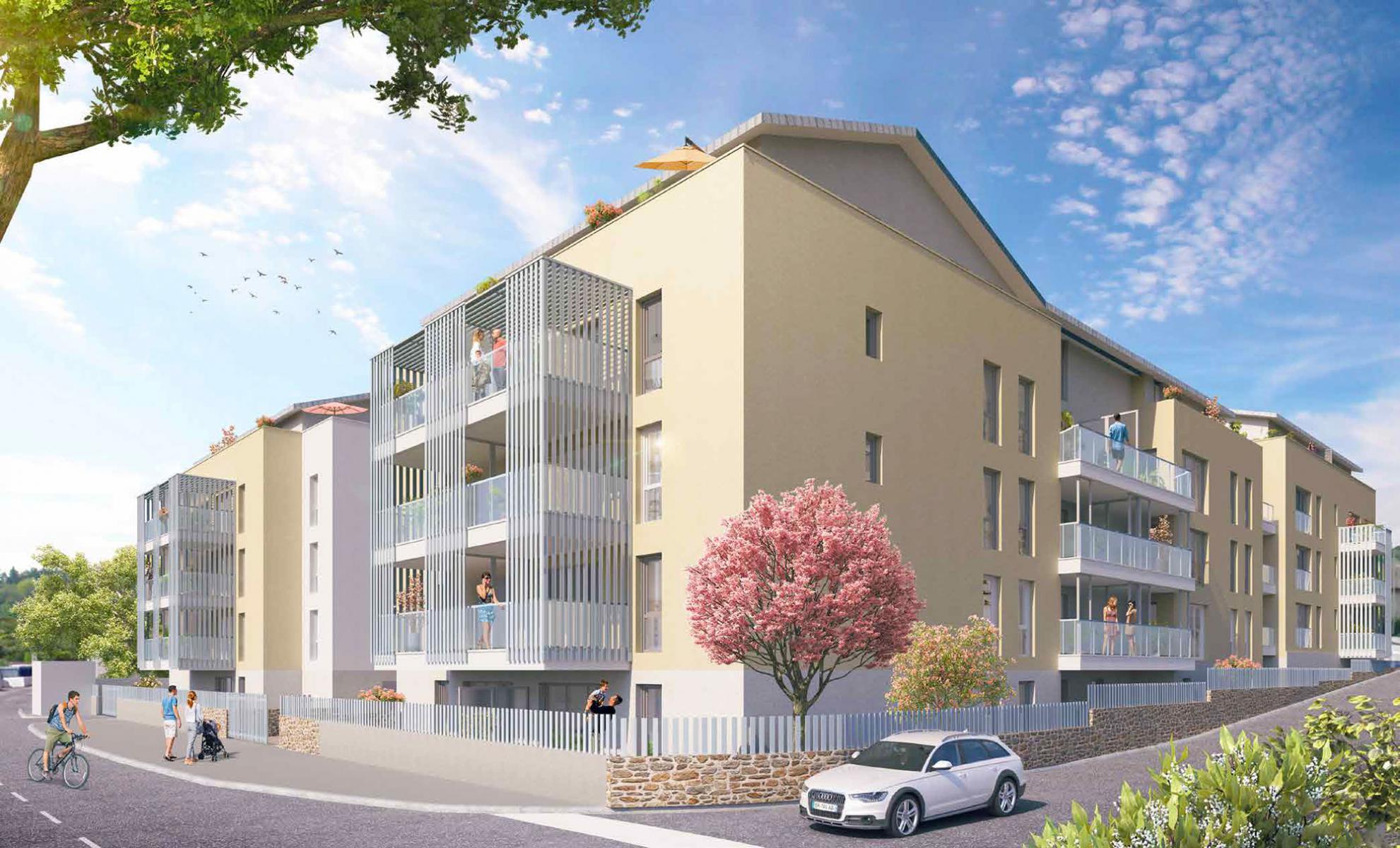 Programme immobilier Chasse-sur-rhone (38670) À deux pas du centre-ville LNC14