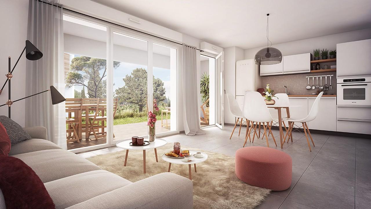 Programme immobilier URB8 appartement à Puget Sur Argens (83480) Environnement Préservé et Verdoyant