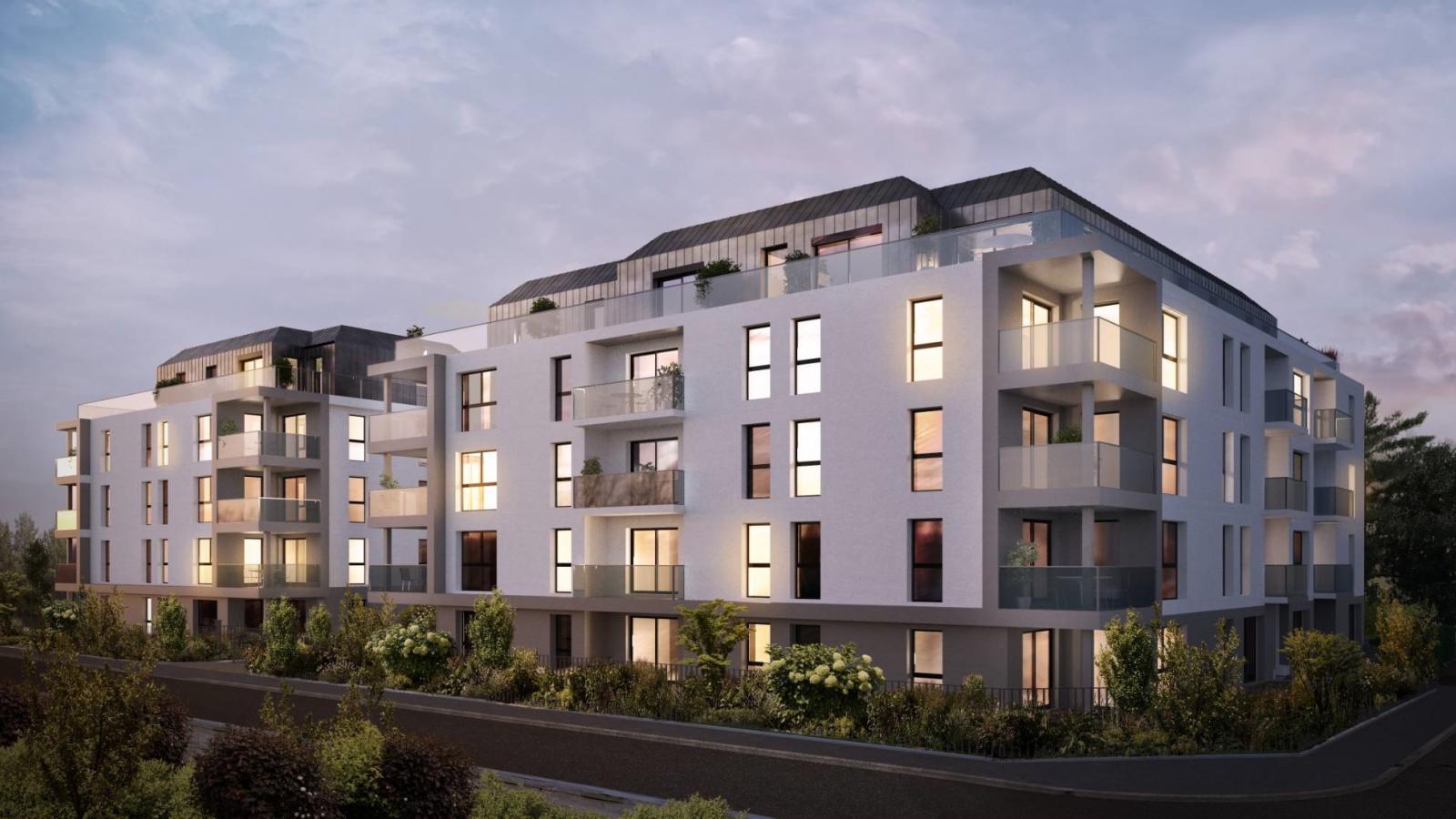 Programme immobilier VAL75 appartement à Ville La Grand (74100) Proche Frontière Suisse
