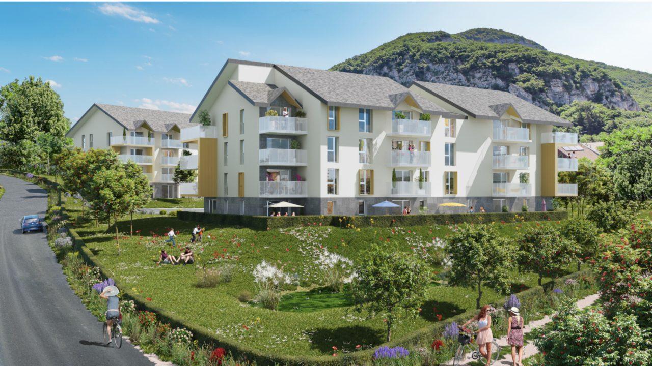 Programme immobilier La Balme-De-Sillingy (74330) Au contact d'une nature majestueuse EUR16