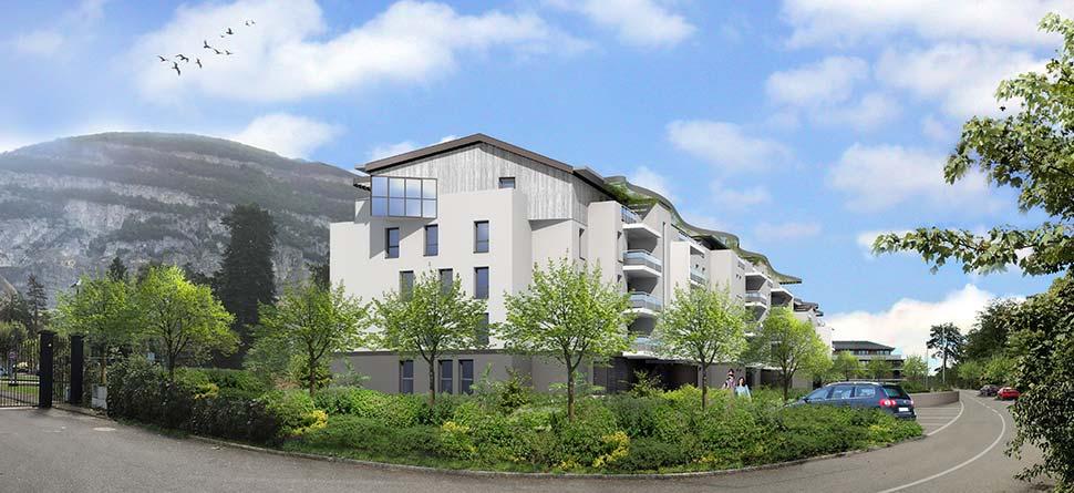 Programme immobilier VAL62 appartement à Etrembieres (74100) Centre Ville