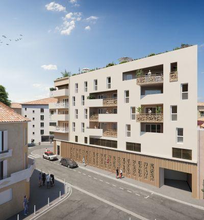 Programme immobilier Toulon (83000) En lisière du centre-ville ALT48