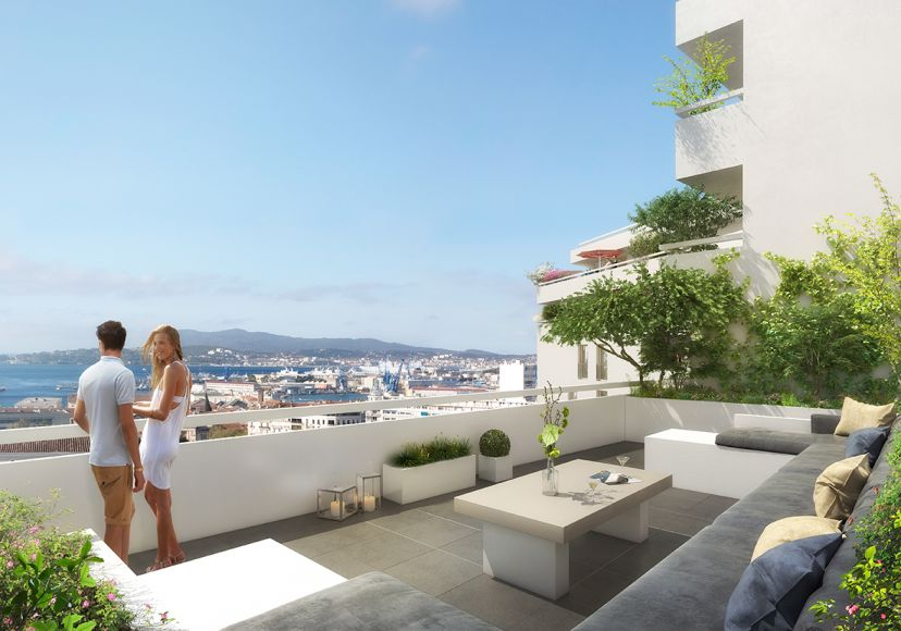 Programme immobilier ICA14 appartement à Toulon (83000) Au cœur de Toulon