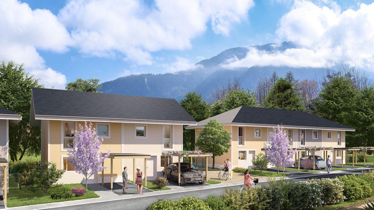Programme immobilier Saint Pierre En Faucigny (74800) Proximité du centre de Bonneville VAL67