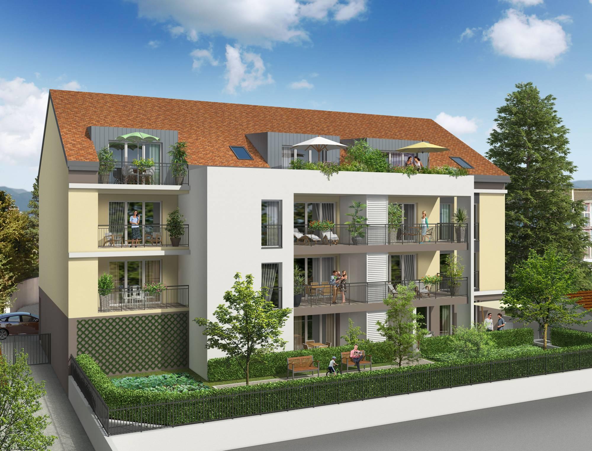 Programme immobilier Ferney-Voltaire (01210) Centre Ville VAL43