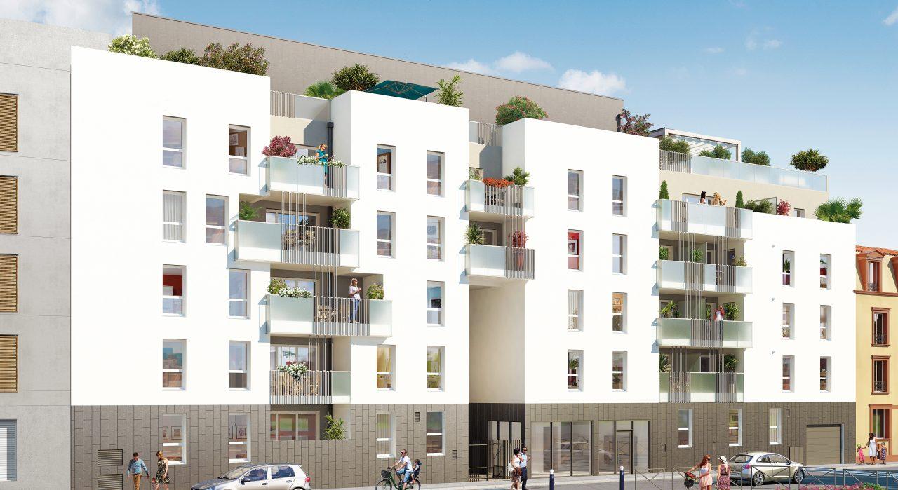 Programme immobilier Villeurbanne (69100) Un quartier jeune et vivant par excellence ICA26