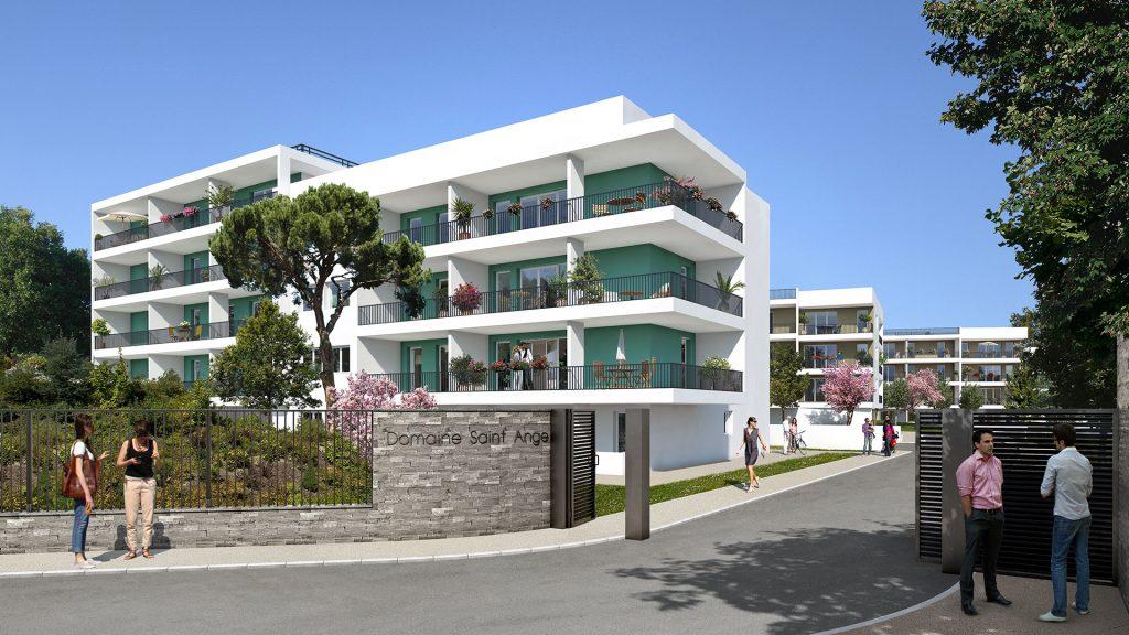 Programme immobilier Marseille 12ème (13012) Caillols URB15