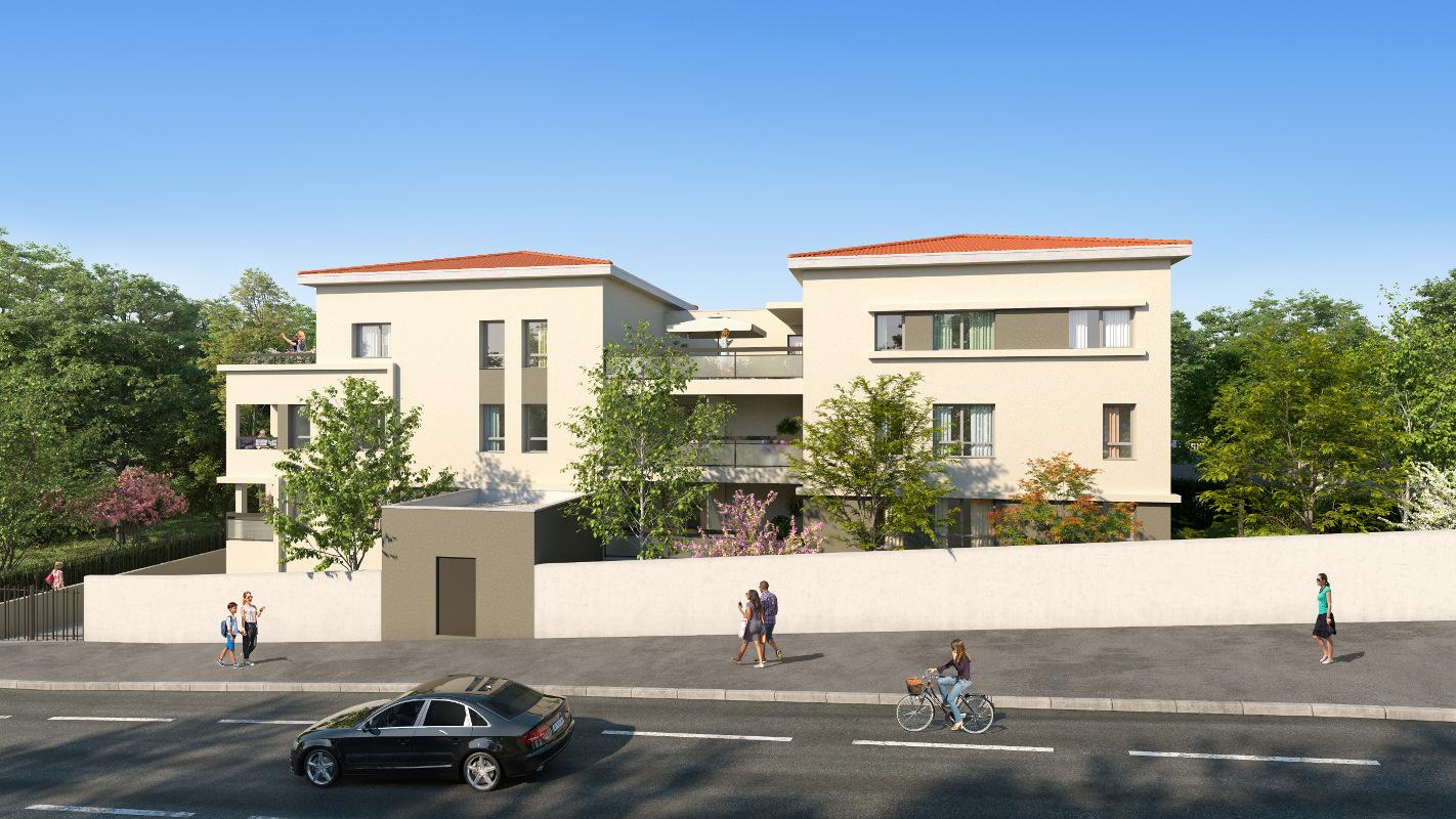 Programme immobilier Sainte-Foy-les-Lyon (69110) Proche Centre ICA21