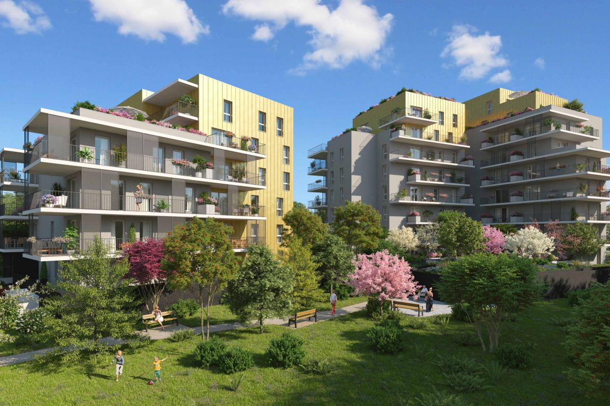 Programme immobilier CO5 appartement à Grenoble (38000) Proche du Centre Ville