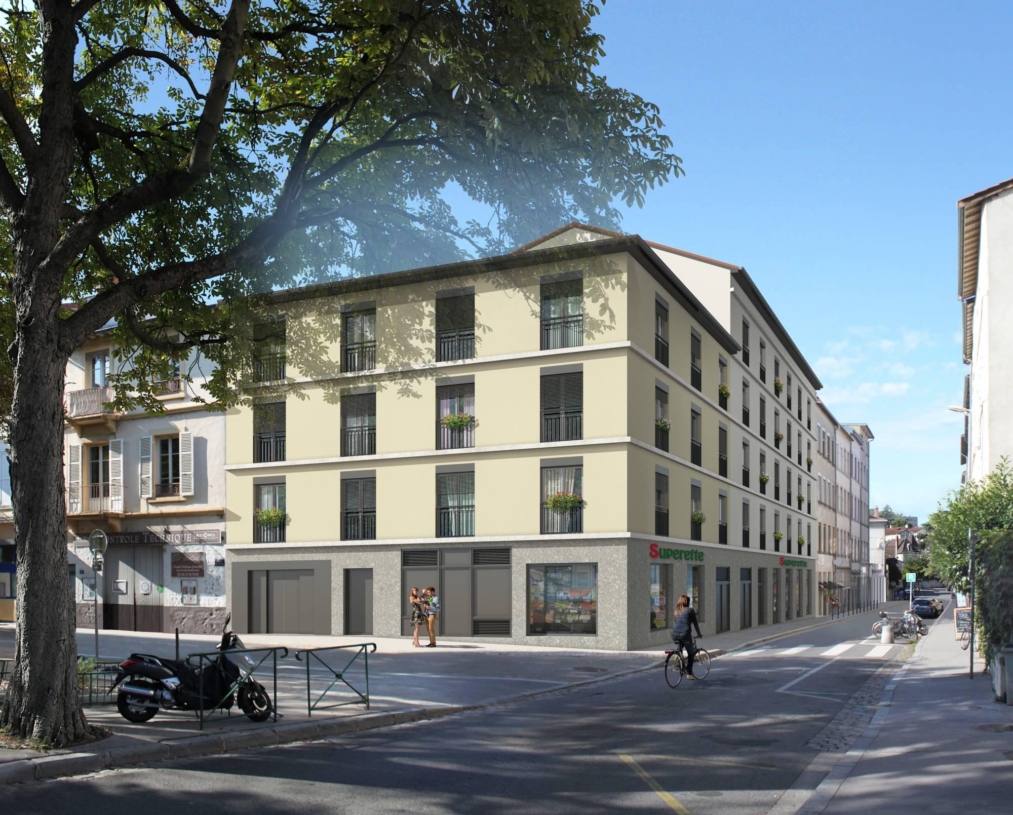 Programme immobilier Lyon 5ème (69005) Colline de Fourvière OGI7