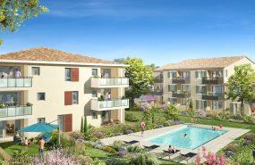 Programme immobilier ALT73 appartement à Le Puy-Sainte-Réparade (13610) À 10 mn à pied du cœur village
