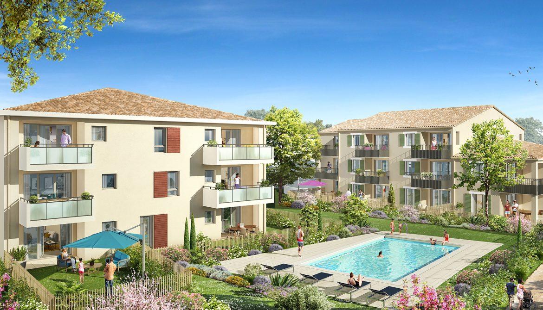 Programme immobilier Le Puy-Sainte-Réparade (13610) À 500 m du cœur commerçant totalement rénové ALT73