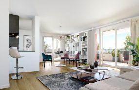 Programme immobilier LCN10 appartement à Marseille 12ème (13012) Un quartier aux airs de Village