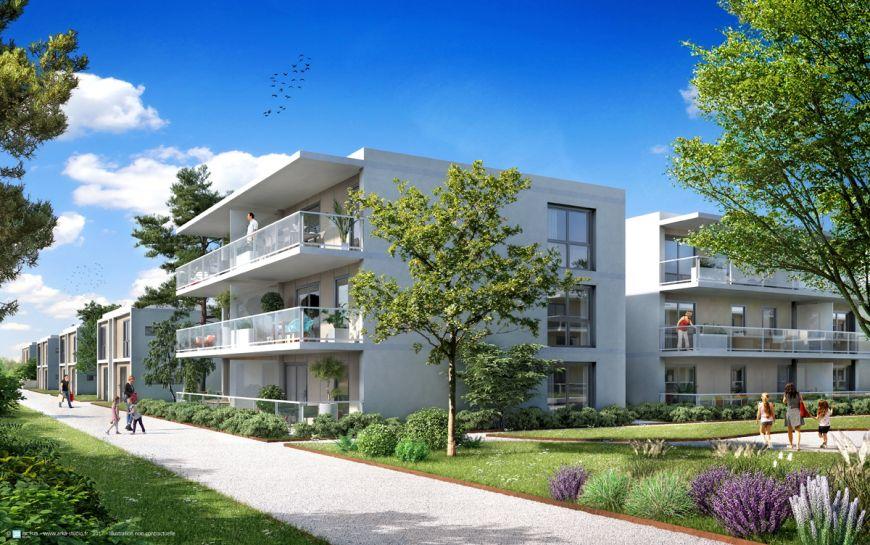 Programme immobilier ICA13 appartement à Thonon les Bains (74200) Quartier entre lac et montagnes Thonon