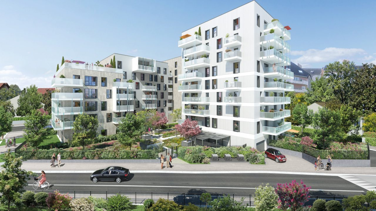 Programme immobilier LNC19 appartement à Ambilly (74100) La croix d'Ambilly