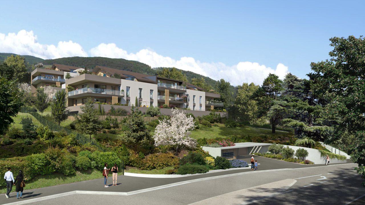 Programme immobilier Sevrier (74320) Coeur de village VAL68