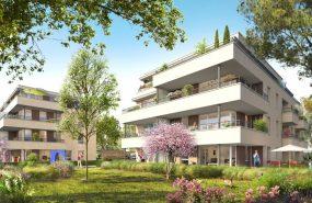 Programme immobilier CAP9 appartement à Champagne-au-Mont-d'Or (69410) Dans un Ecrin de Verdure