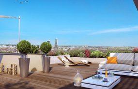 Programme immobilier KAB3 appartement à Caluire (69300) Sur les hauteurs de Caluire-et-Cuire