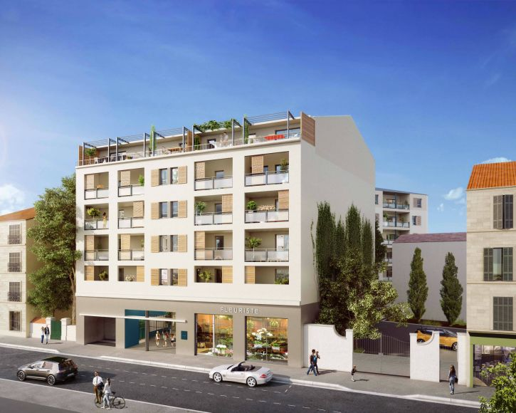 Programme immobilier ICA20 appartement à Marseille 4ème (13004) À deux pas du Parc Longchamp