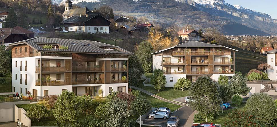 Programme immobilier VAL60 appartement à Domancy (74700) Centre Ville