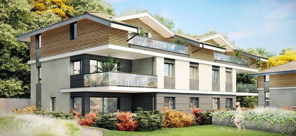 Programme immobilier VAL68 appartement à Sevrier (74320) Centre Ville
