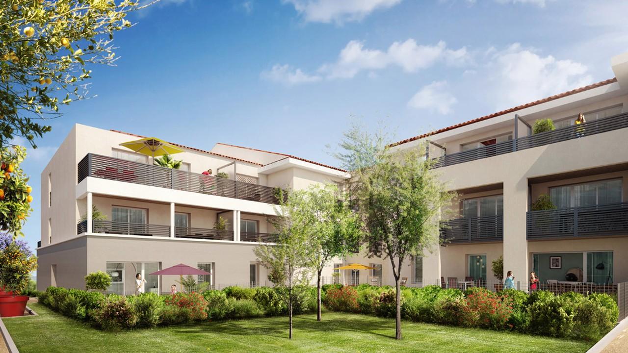 Programme immobilier URB4 appartement à Cuers (83390) Proche Entrée Nord