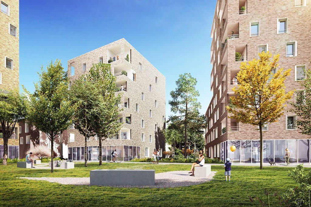Programme immobilier Villeurbanne (69100) Cusset ICA8