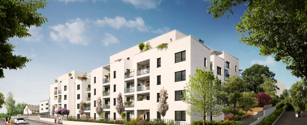Programme immobilier Chambery (73000) Sur les hauteurs de la ville EDE10