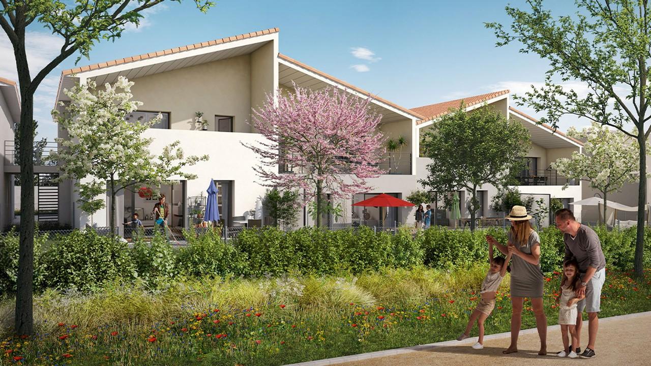 Programme immobilier Villefranche-sur-Saône (69400) Proche Parc Vermorel PI14