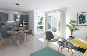 Programme immobilier ALT103 appartement à Marseille 9ème (13009) Belle harmonie architecturale
