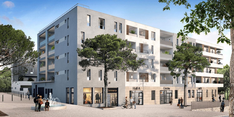 Programme immobilier QUA4 appartement à Marseille 14ème (13014) Hauts de Sainte-Marthe