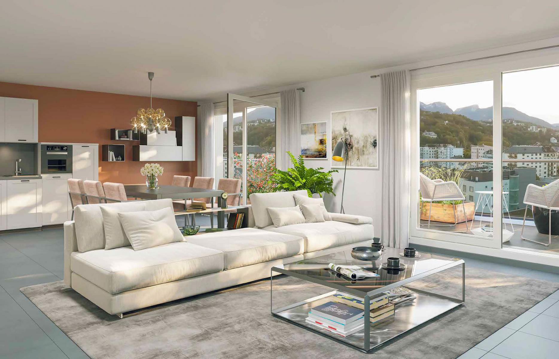 Programme immobilier CO6 appartement à Chambery (73000) Proche Quai de la Rize