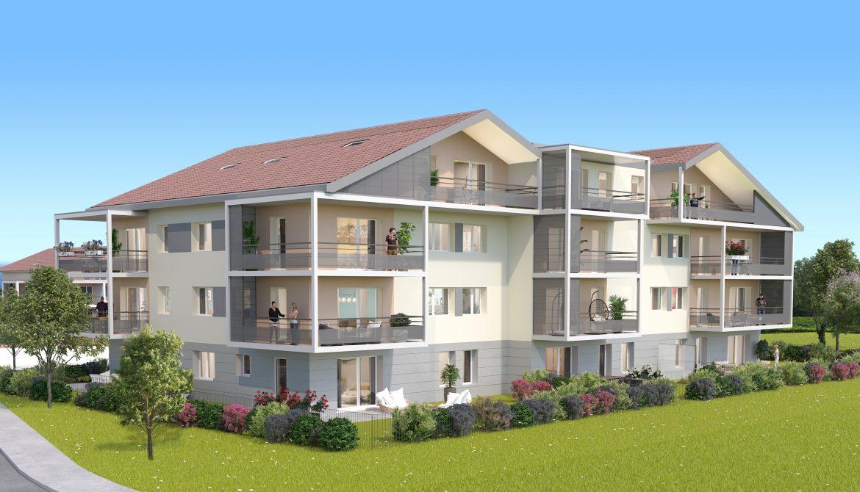 Programme immobilier ALT43 appartement à Valleiry (74520) CENTRE VILLE