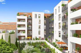 Programme immobilier ALT58 appartement à Marseille 5ème (13005) Résidence Contemporaine Intimiste