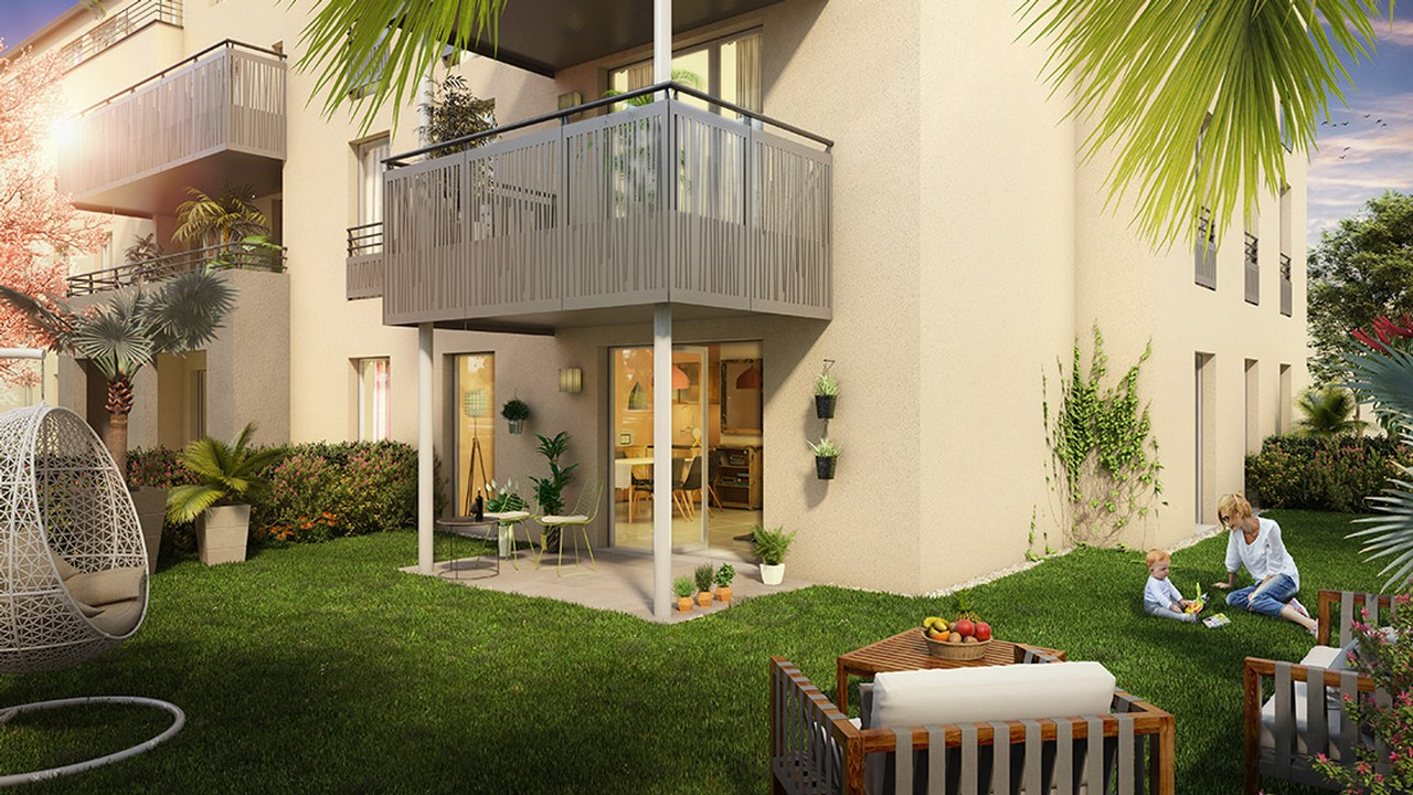 Programme immobilier Six Fours Les Plages (83140) À 2 Pas du Centre Ville URB9