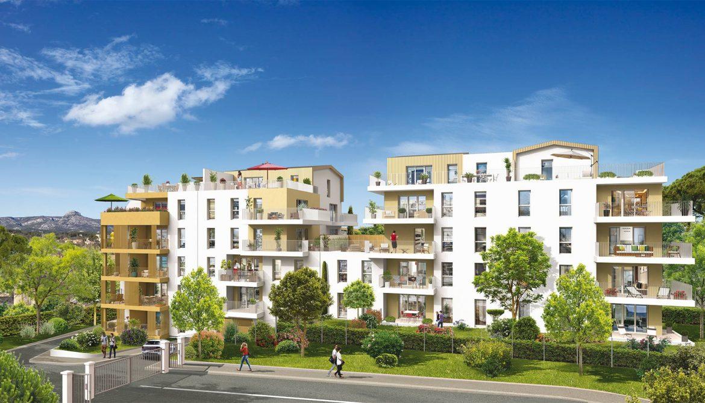 Programme immobilier Aubagne (13400) À 25 mn du Vieux-Port et des plages en voiture VAL88