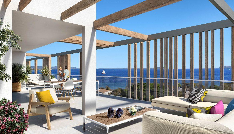 Programme immobilier Hyères (83400) À quelques dizaines de mètres de la plage KAB25