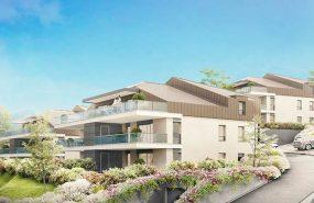 Programme immobilier VAL64 appartement à Neuvecelle (74500) Vue sur Lac