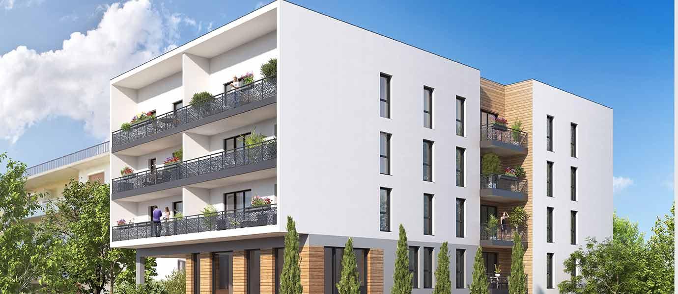 Programme immobilier Thonon les Bains (74200) A deux pas du centre-ville de Thonon ICA13
