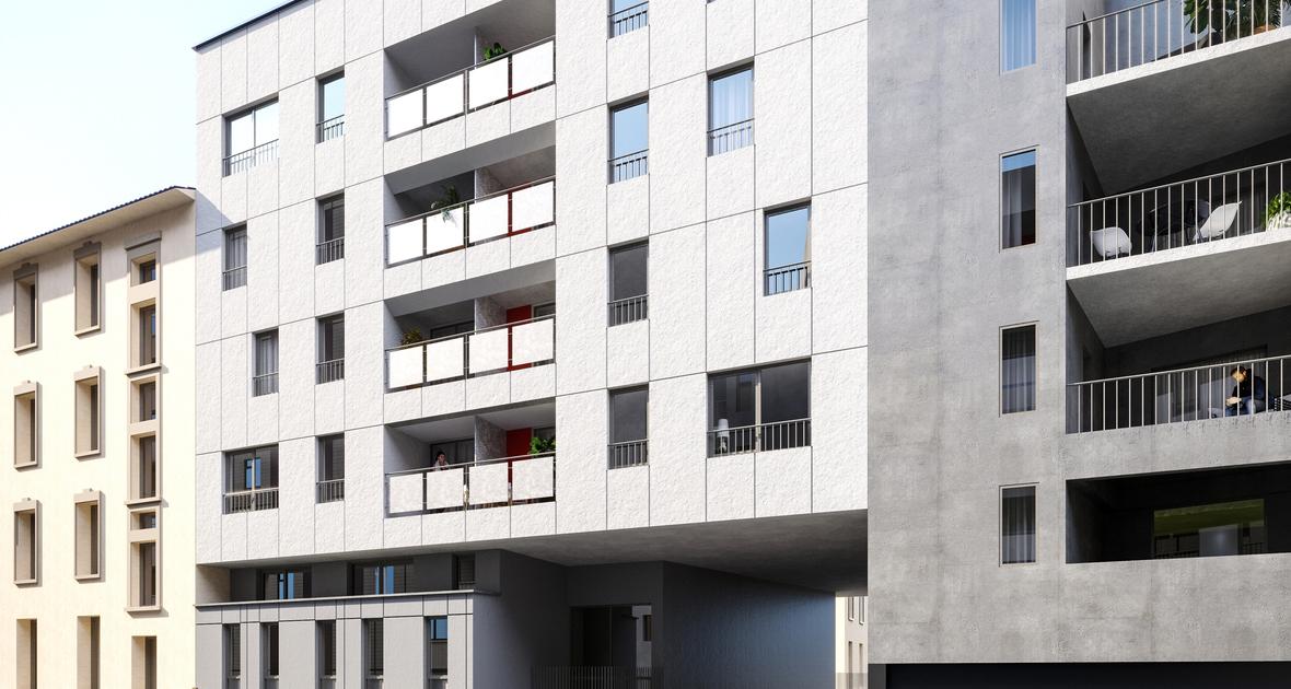 Programme immobilier Lyon 7ème (69007) Proche Parc Blandan LNC6